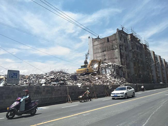 官坡大市场终于拆啦!不甘沦为城市伤疤向城市地标华丽转身