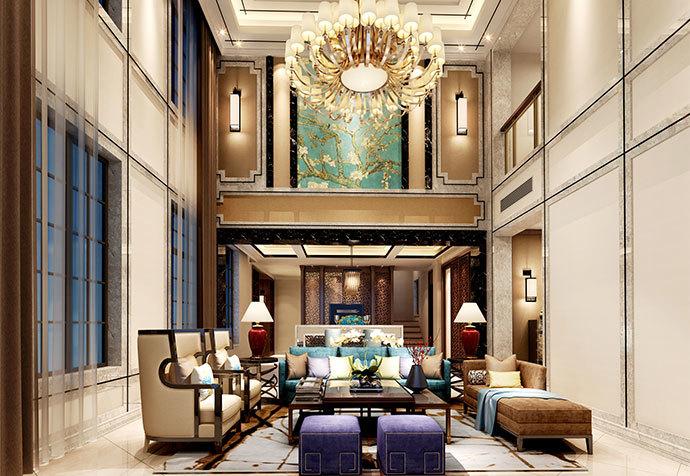普罗旺世 130m² 新中式风格装修