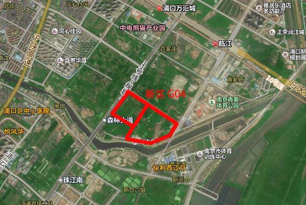 核心区G05终止出让!明日江北仅1幅地出让 起拍价29.8亿
