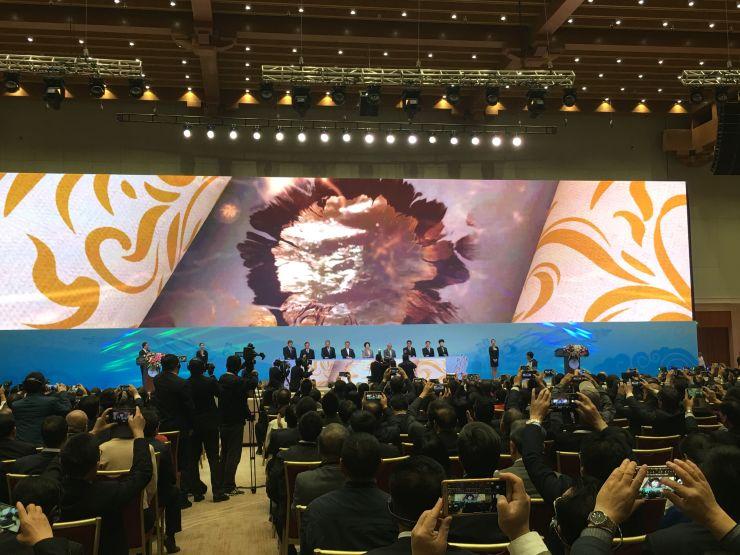 第三届丝绸之路(敦煌)国际文化博览会开幕孙春兰发表主旨演讲