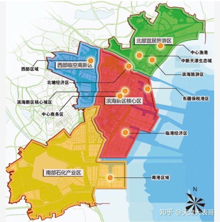 滨海个板块哪里宜居?哪里适合投资?