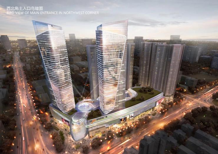 """这里是太原最新、最繁华的""""商业区""""  快看看在你家附近吗"""