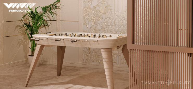 見證奢華娛樂體驗,Vismara Design高端進口家具