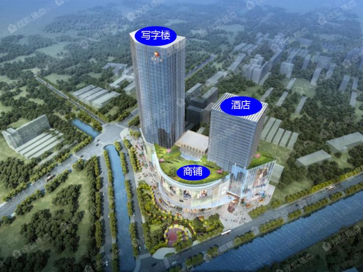东部商圈全新综合体 东湖广场写字楼9月29日面世开盘