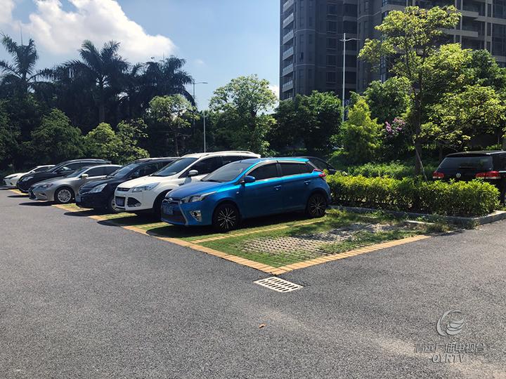"""静福广场公共停车位被""""私用?"""