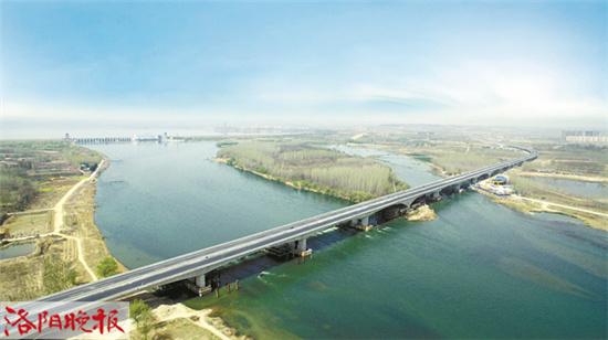 洛吉快速通道黄河大桥明起全面通车 双向四车道通行