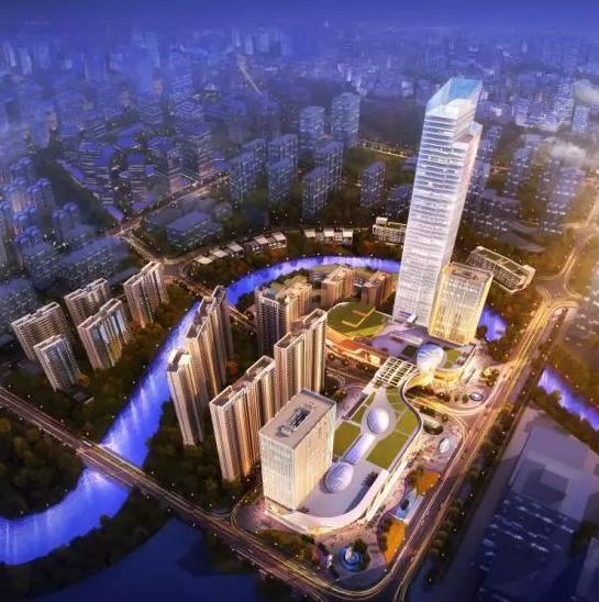 66万方天街综合体,崛起洋湖全新商业范本