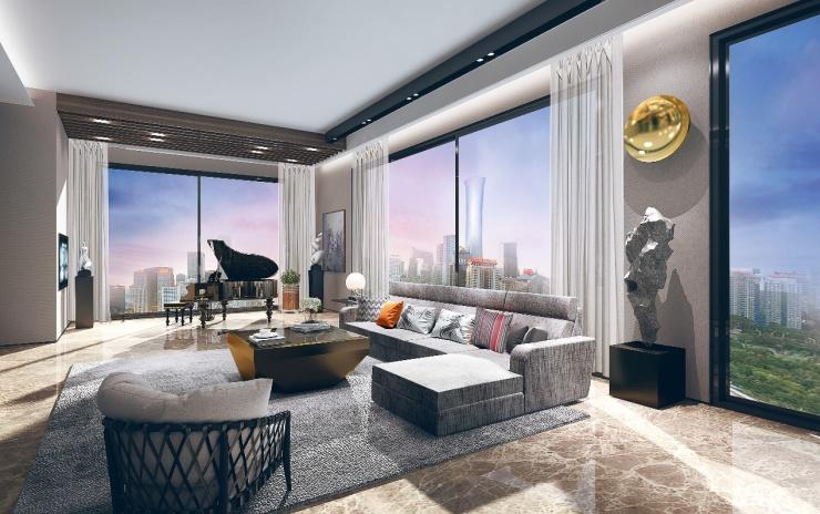21城39府超级规模,北京金茂府奠定超级未来
