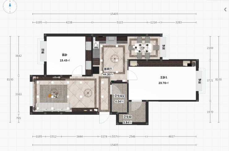 百强生活家|88平米两居,如何打造充满高级感又温馨的家!