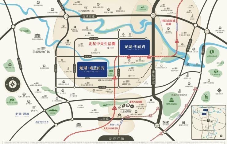 龙湖大丰新项目正式亮相,地铁口资产抢驻北城心