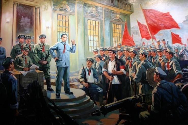 米哈斯小镇:八一建军节,致敬中国老兵!