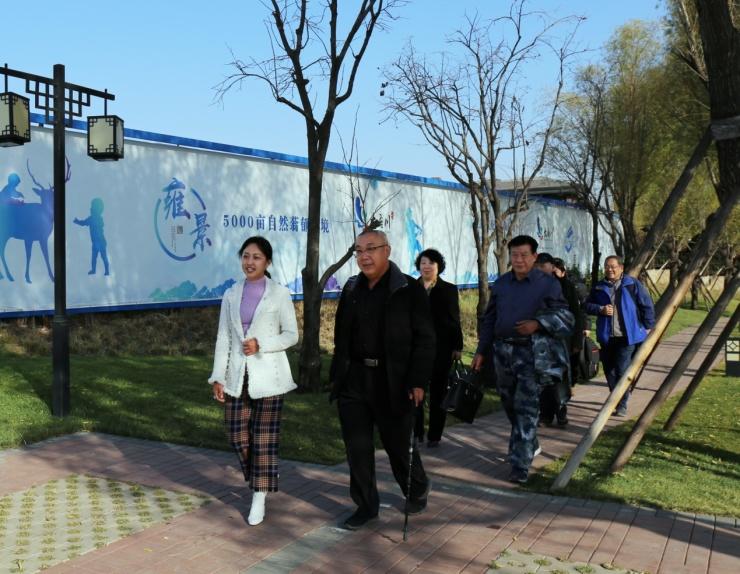 河北省农合促进会调研大吾川 深度挖掘平山县稀有产业价值