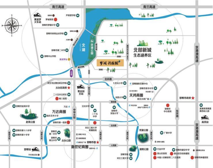梦湖孔雀城 | 生态公园 人文景观