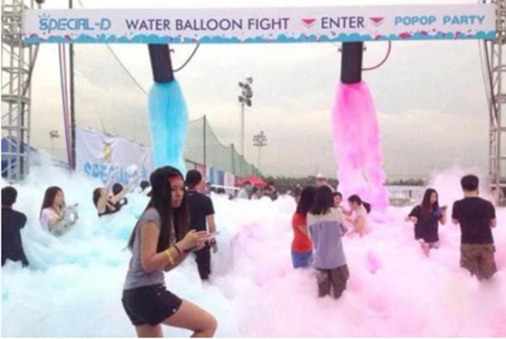 国际庄首届POP泡泡跑迷你马拉松 5月13日开跑