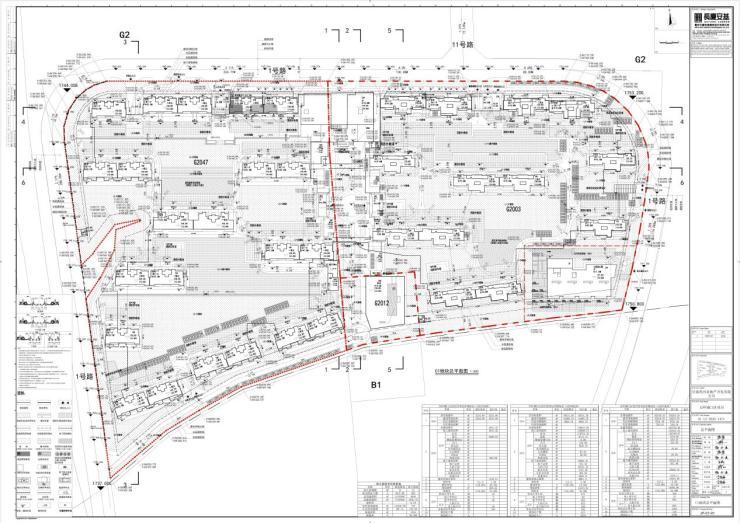 共26栋住宅楼 万科城C1、C2区总平面图出炉