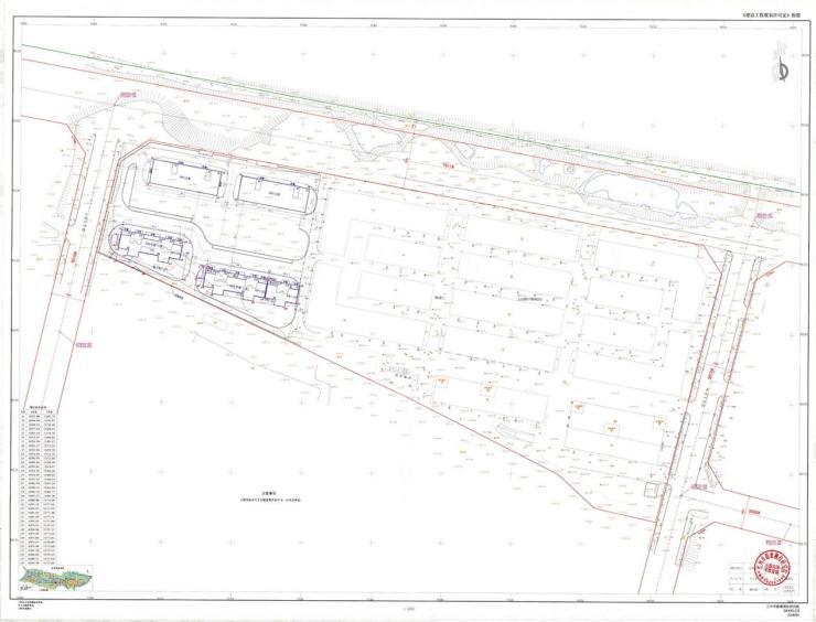 立达国际汽配城B区办公楼项目建筑工程设计方案总平面图公示