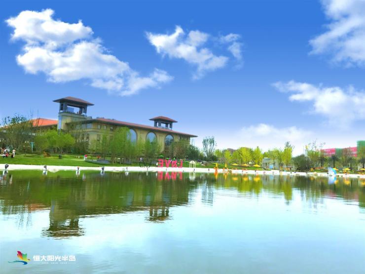 大湖岛居 再续传奇 恒大阳光半岛湖心花岛组团新品全球预约中!