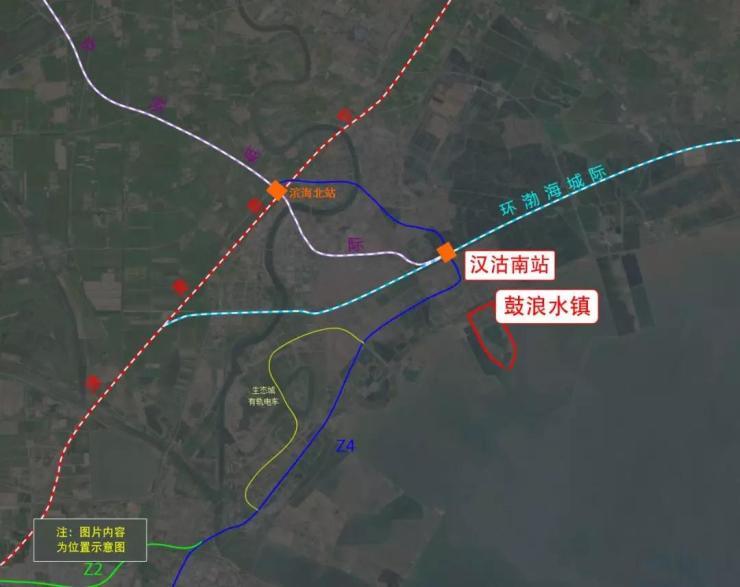 定了!鼓浪水镇又多一条高铁,环渤海高铁年底开工!