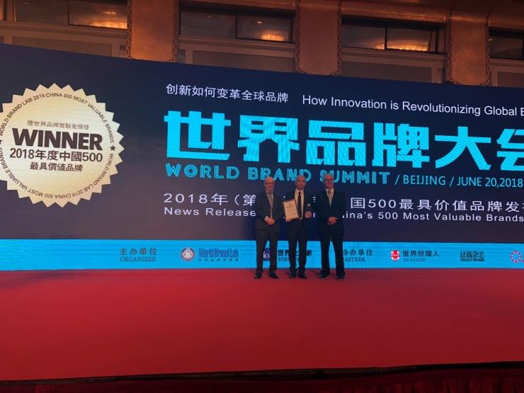 品牌价值再攀升,名气厨房电器荣膺《中国500最具价值品牌》!