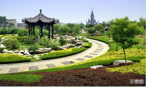 湖畔新都孔雀城 用创意园林创造美好生活