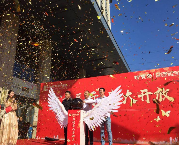10月1日,商丘这个大型城市展厅开放仪式隆重举行,人山人海!