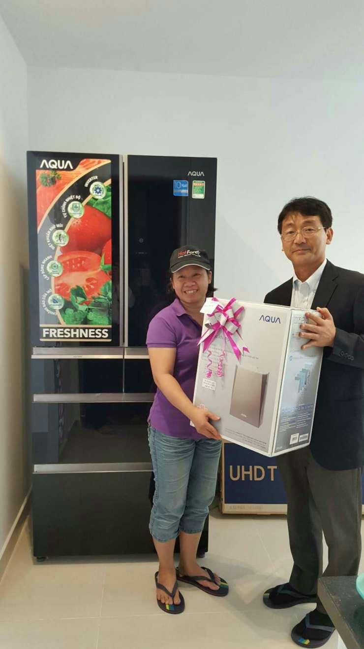 越南消费者买多门冰箱首选海尔 份额达到22.5%