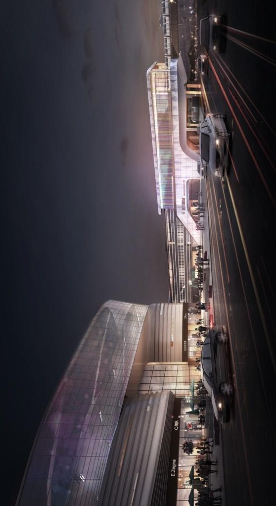 龙湖天街TOD综合体,不可预估的商务力量崛起上海