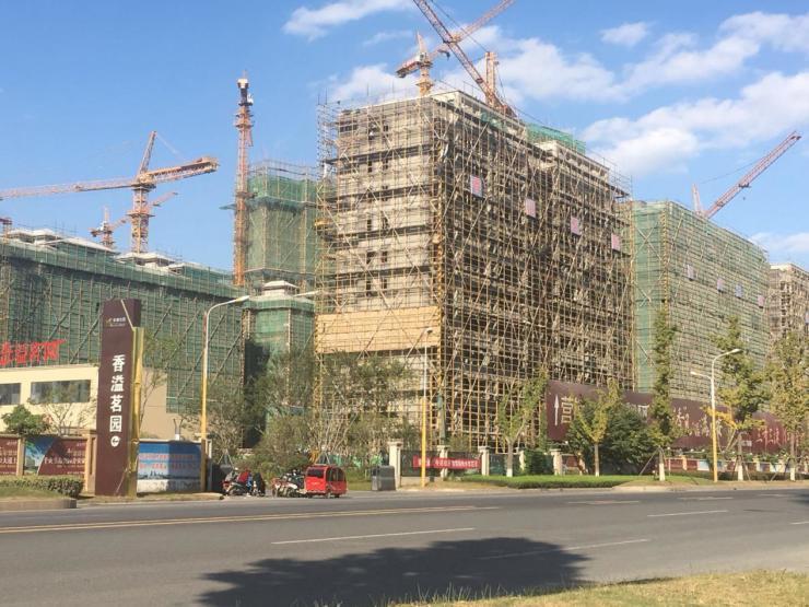 """实探!清河新区""""流量王""""香溢茗园 东侧地块多楼栋已经封顶!"""