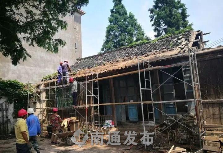 让百年古建筑重焕光彩 | 吕四进士府修缮工作全面启动