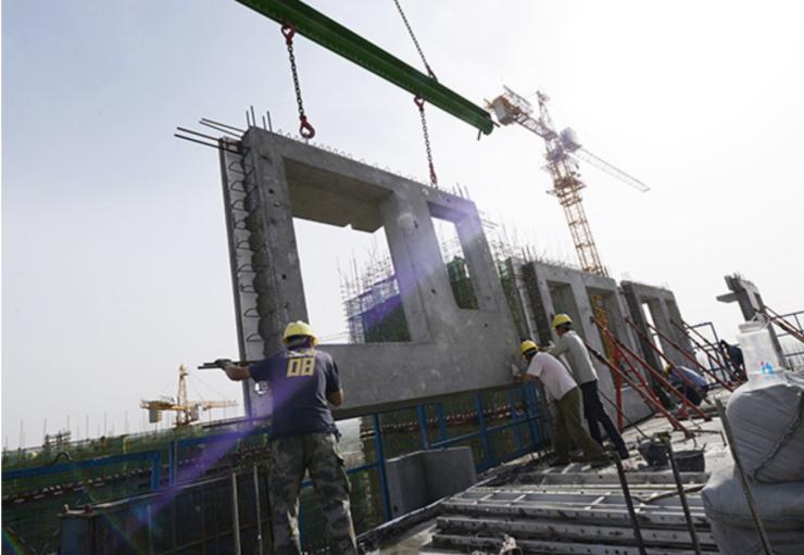 住建部:已落实新建装配式建筑项目约1.27
