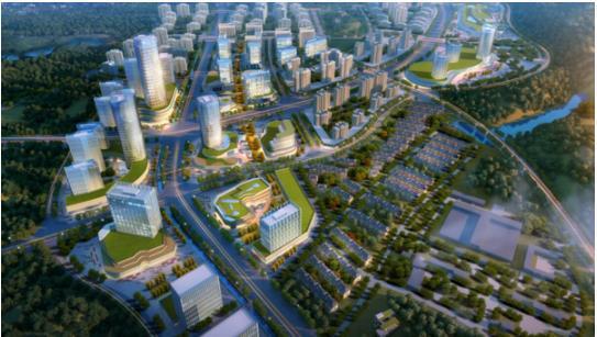 颐养小镇,打造临安新城健康示范区