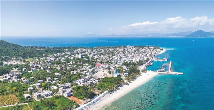 三亚西岛社区升级改造 打造美丽渔村