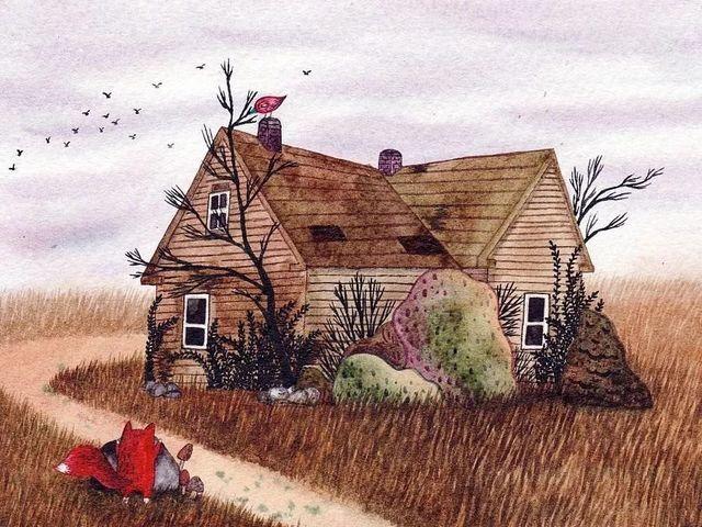 精美散文      《老房子》