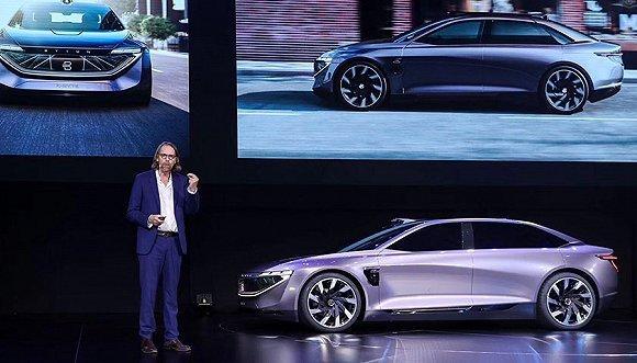CES ASIA正式揭幕前一天 拜腾又发布了一款概念车