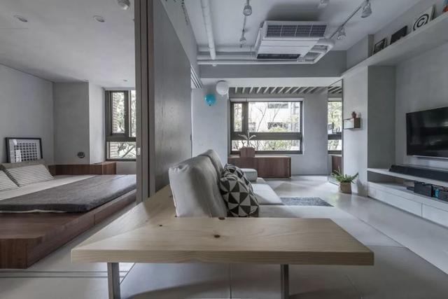 芜湖红梅新村60㎡的现代风格装修案例