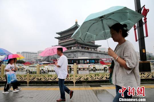 陕西106个县(区)降雨 13条河流出现明显洪水过程