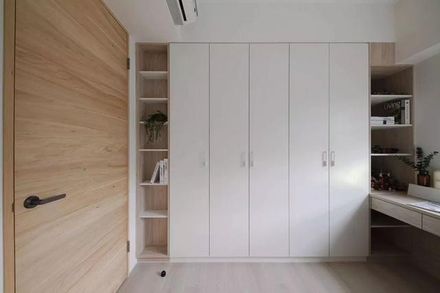 芜湖保利香颂86㎡木质简约风格装修效果图