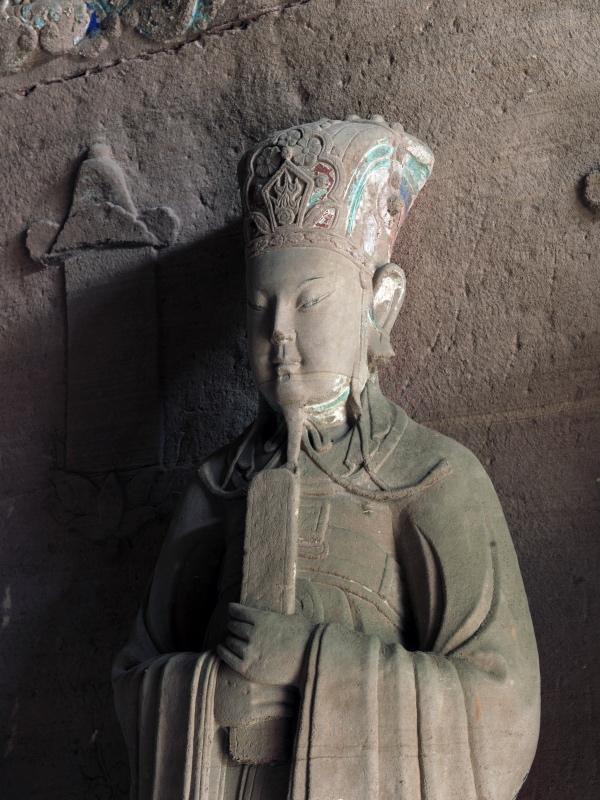 8年访道教石窟的萧易:今人为石像妆彩,问题出在工艺和材料