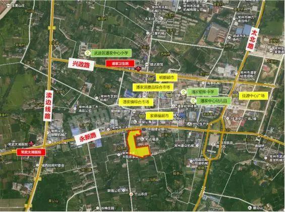 (最新成交)江苏旷达2.49亿元竞得常州武进雪堰镇地块,楼面价3035元/㎡