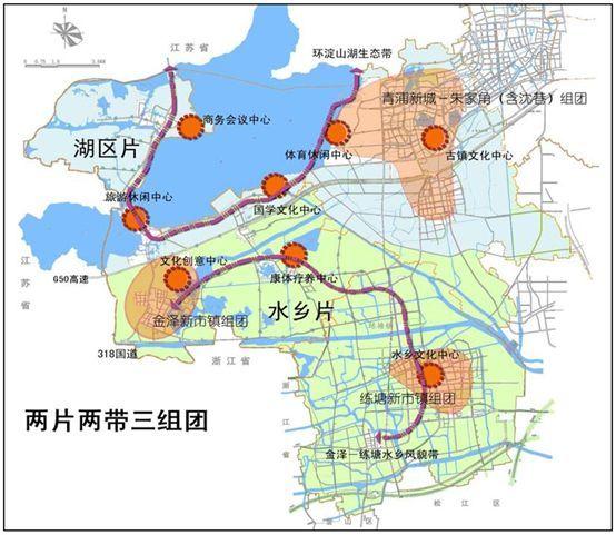 《上海2035规划》淀山湖中长期发展规划
