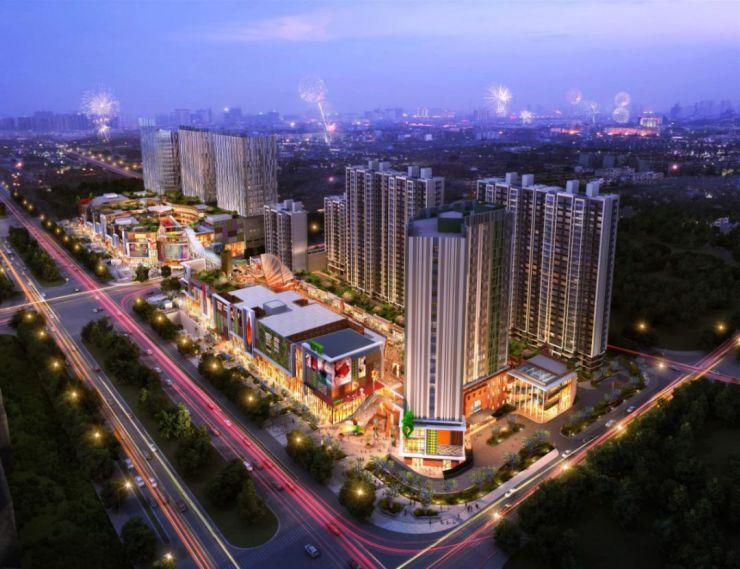 青浦万达茂、绿地中心等轨交五大商业综合体明年全面建成开业!