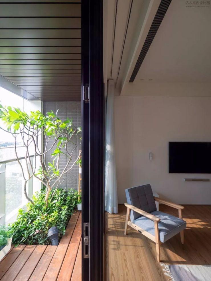 【头条】台北馥阁设计 | 132m²单层住宅+174m²晴朗的微風·达人网1003期