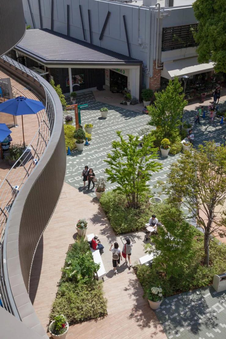 环境艺术设计   10个经典商业街景观设计案例