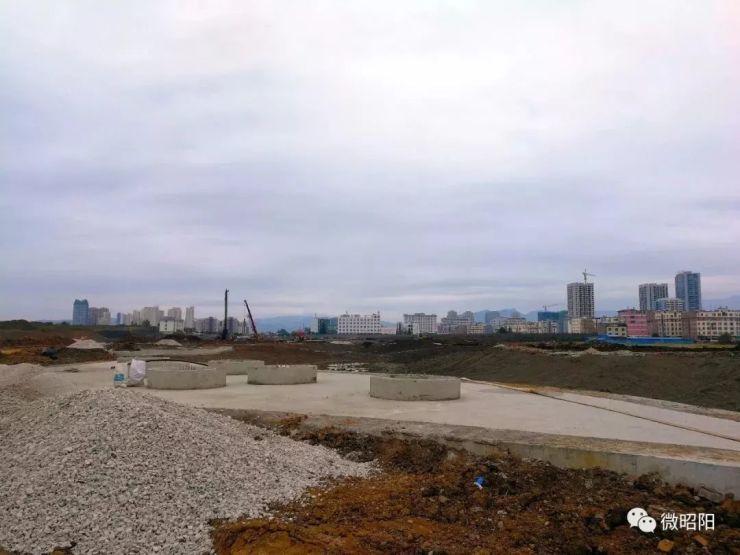 乌蒙水乡水体公园建设完成投资1.5亿,部分建筑现雏形~