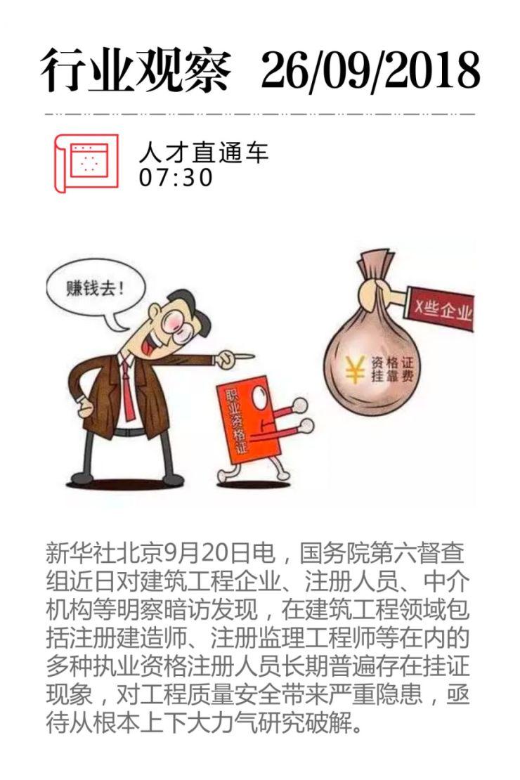 """国务院批评建筑业""""挂证""""乱象,多部门""""围剿""""严查"""