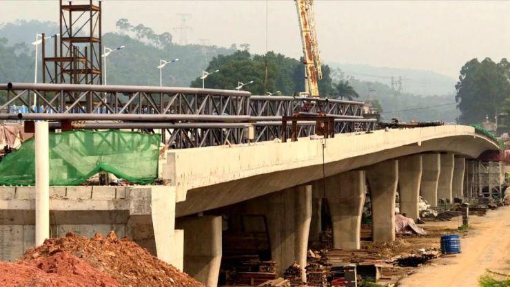 好消息!庄田大桥预计11月上旬通车,可有效提升西环路整体通行能力