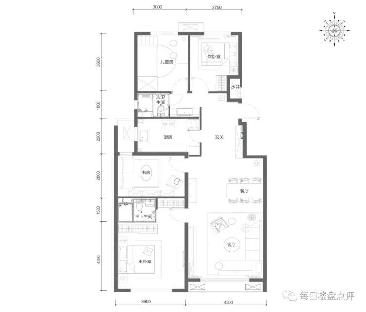 北京和悦华锦户型评测+户型优化改造设计篇!